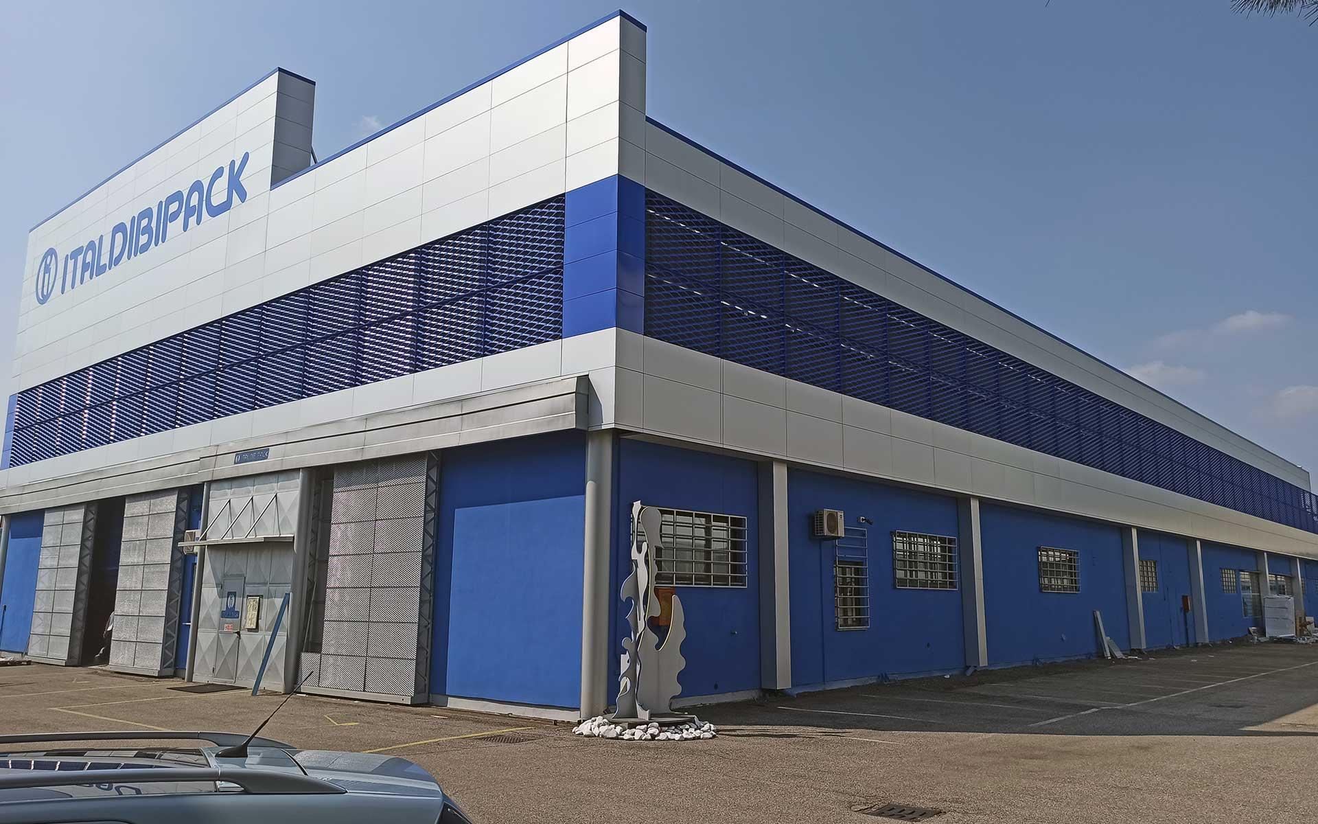 Rivestimento di facciata ventilata, rivestimento in alluminio cieco, rivestimento in lamiera stirata