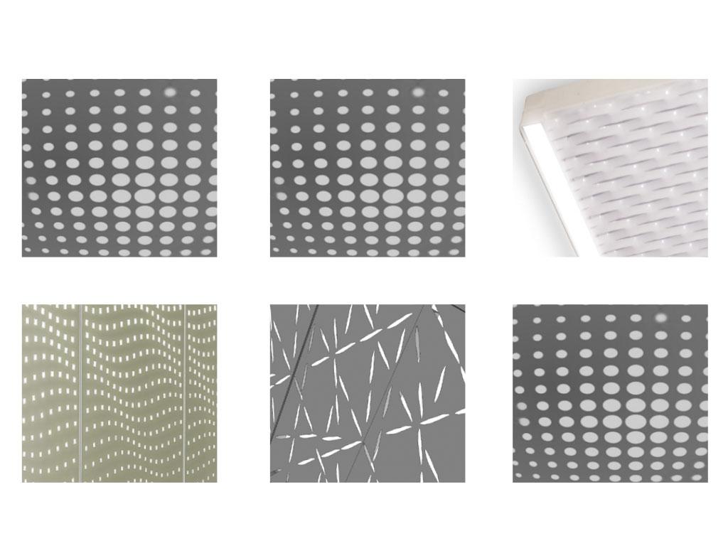 Pannelli perforati, pannelli zinco titanio