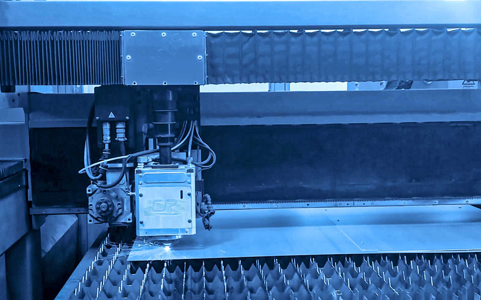Lavorazione laser, pannelli tagliati, pannelli traforati