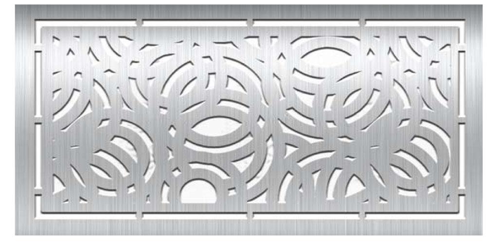 Pannelli decorativi, pannelli decoro laser, pannelli per uso esterno, recinzioni